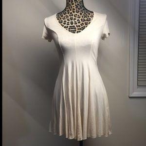 NWOT Cream colored H&M basic dress